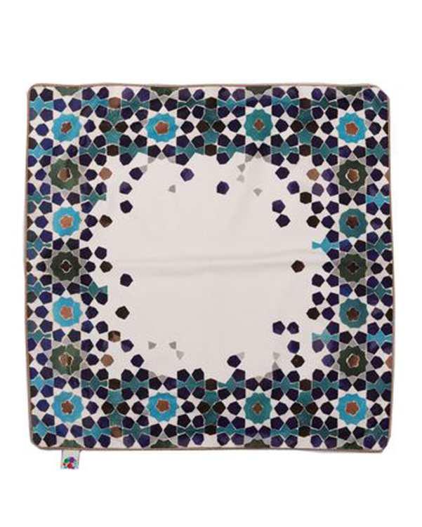 رومیزی مخمل مربع مدل TF3-50 چند رنگ 50×50 پرووال