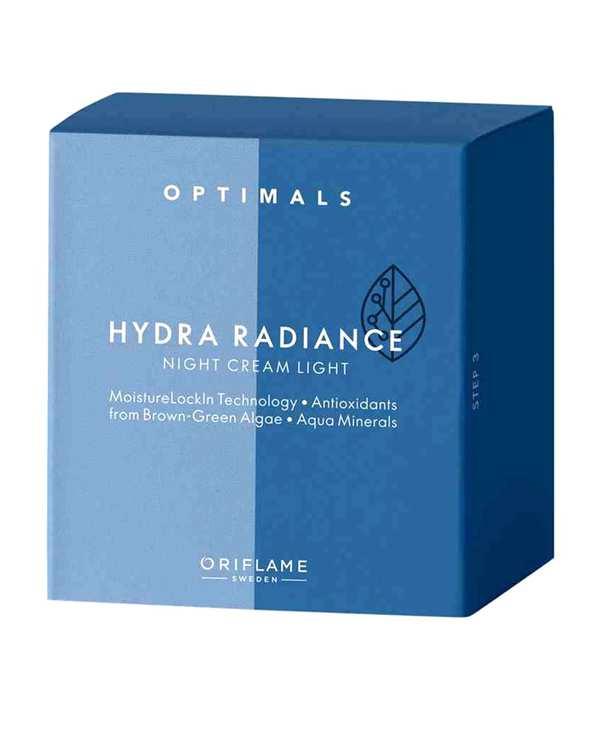 کرم شب حاوی آنتی اکسیدان 50ml Optimals Hydra Radiance اوریفلیم