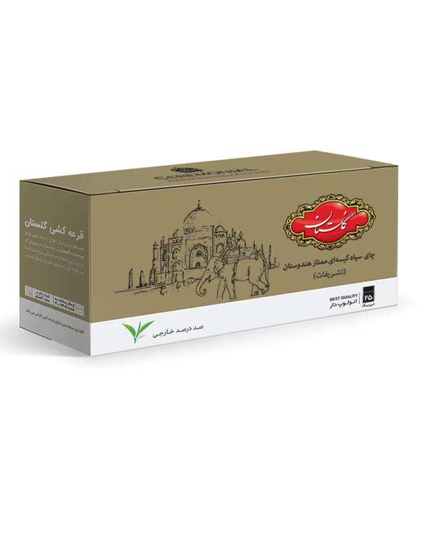 چای کیسه ای تشریفات هندوستان گلستان بسته 25 عددی