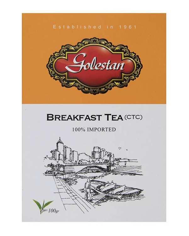 چای صبحانه کله مورچه ای100 گرمی گلستان