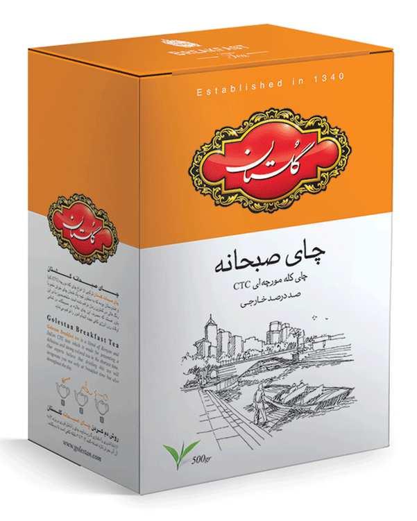 چای صبحانه کله مورچه ای 500 گرمی گلستان