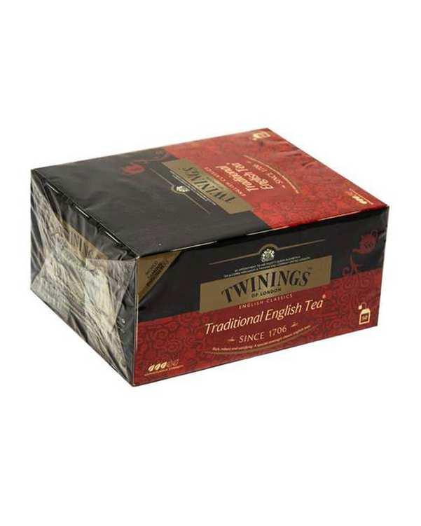 بسته 50 عددی چای سیاه کیسه ای سنتی انگلیسی توینینگز