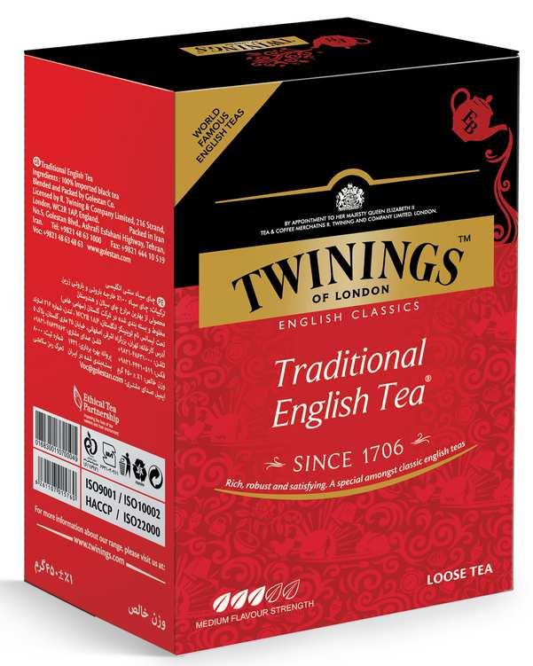 چای سیاه سنتی انگلیسی 450 گرمی توینینگز