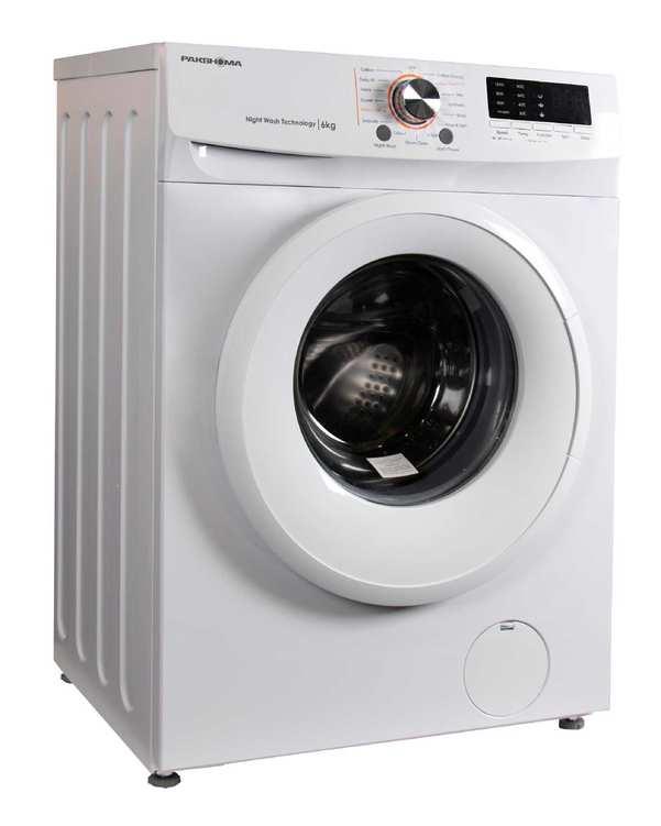 ماشین لباسشویی اتوماتیک 6 کیلویی مدل TFU 63100 W سفیدپاکشوما