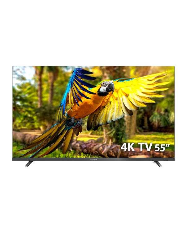 تلویزیون UHD هوشمند 55 اینچ سری K4300U خاکستری دوو