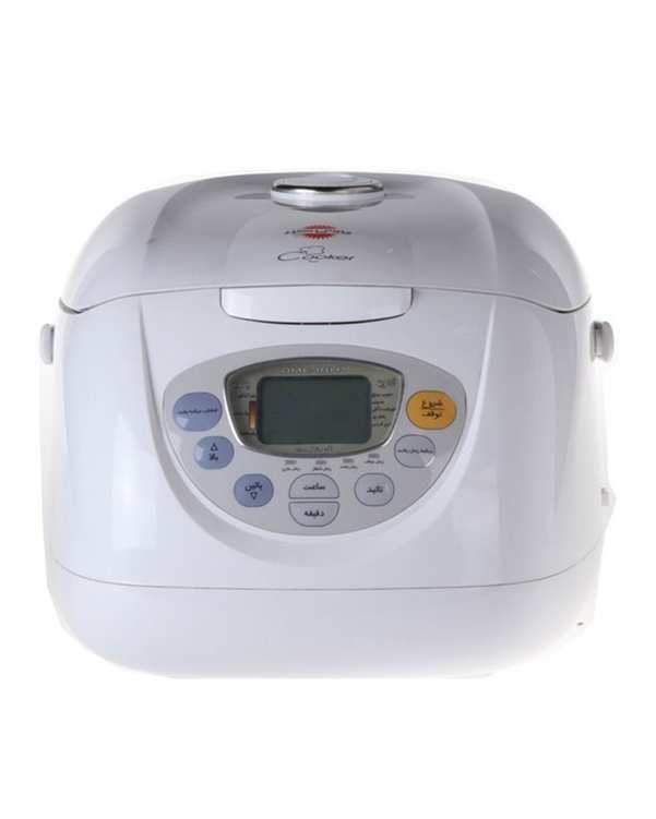 پلو پز دیجیتال 8 نفره مدل DMC-181P سفید پارس خزر