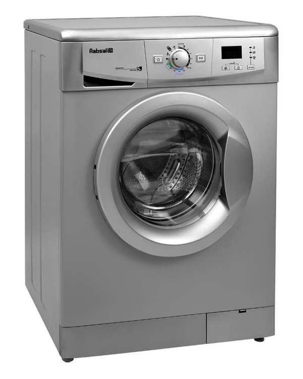 ماشین لباسشویی 5 کیلویی مدل REN5210-S نقره ای آبسال