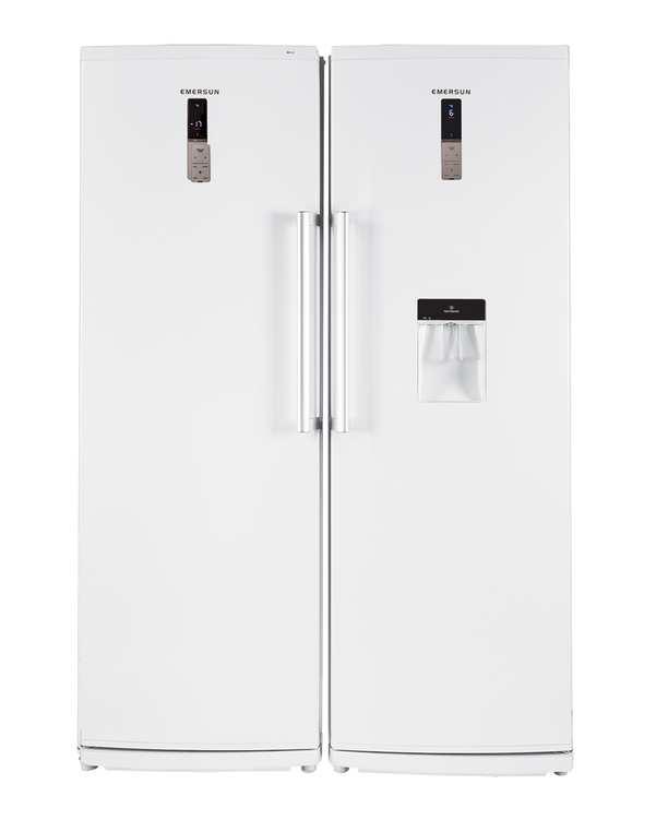 یخچال و فریزر دوقلو مدل FN15D-RH15D سفید امرسان