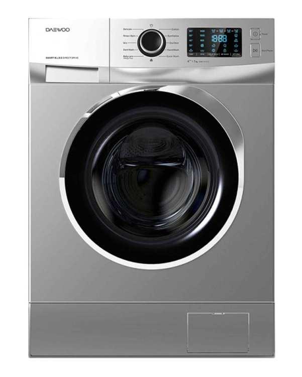 ماشین لباسشویی ویوا 8 کیلویی مدل DWK-8243 تیتانیوم دوو