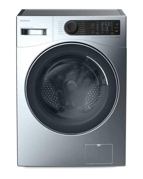 ماشین لباسشویی سینیور 9 کیلویی مدل DWK-9000S نقره ای دوو