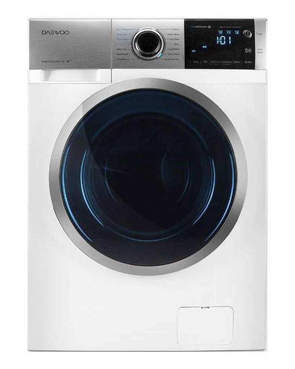 ماشین لباسشویی پرو 8 کیلویی مدل DWK-Pro841TB سفید دوو