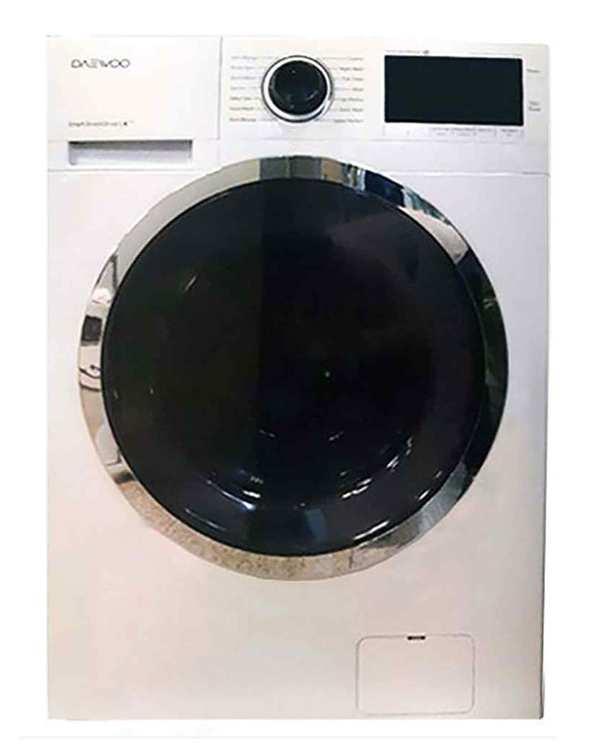 ماشین لباسشویی پرو 8 کیلویی مدل DWK-Pro841TT سفید دوو