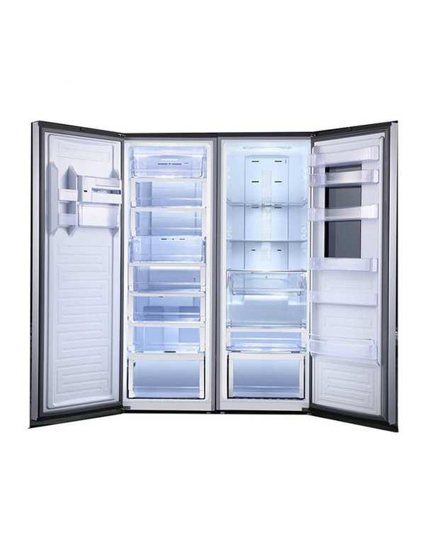 یخچال و فریزر دوقلو 40 فوت Door In Door استیل وایت هاوس