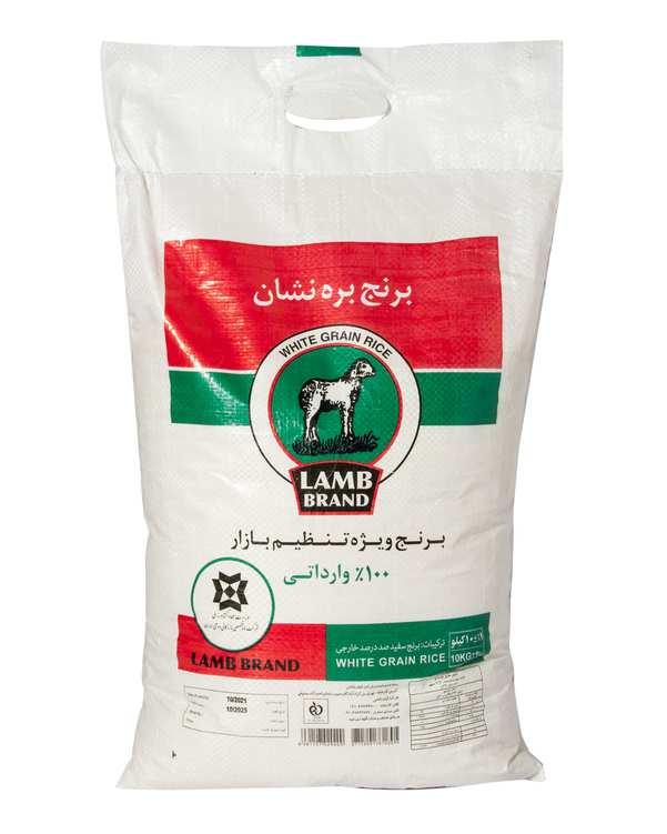 برنج سفید تایلندی 10 کیلویی تنظیم بازار