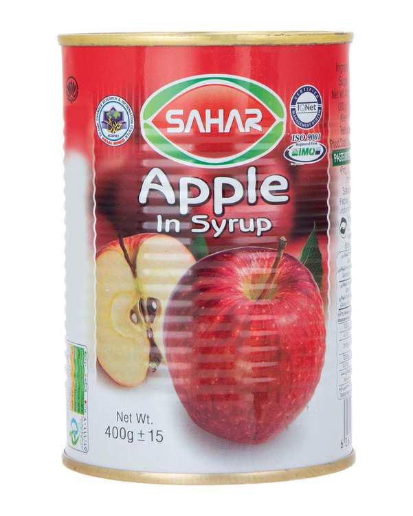 کمپوت سیب 400 گرمی سحر