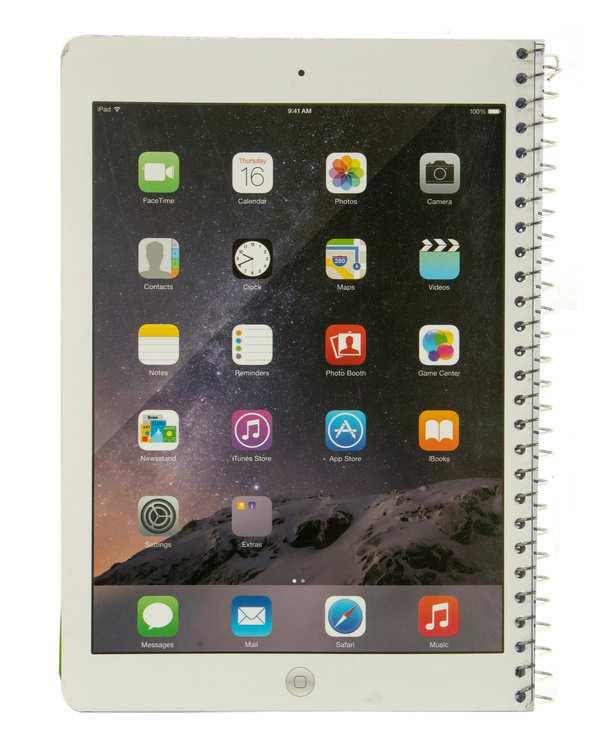 دفتر سیمی خط دار 60 برگ سری Tablet دانو