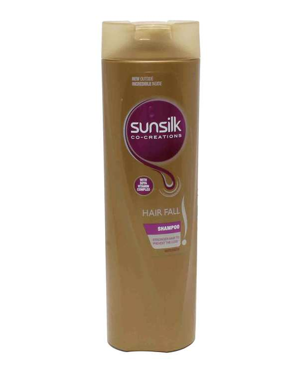 شامپو ضد ریزش مخصوص موهای ضعیف و شکننده 350ml سان سیلک