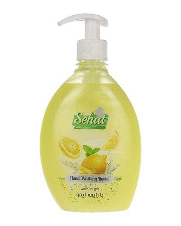 مایع دستشویی صدفی با رایحه لیمو 500 گرمی صحت