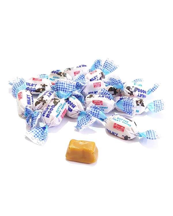 تافی شیری کره ای 400 گرمی میلکی مو شیرین عسل
