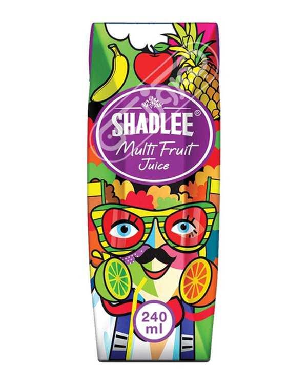 آب چند میوه 240 سی سی شادلی