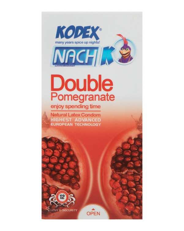 بسته 12 عددی کاندوم ناچ انار مدل Double Pomegranate کدکس