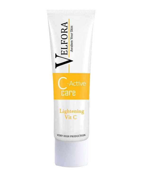 کرم روشن کننده و ضد لک حاوی ویتامین 30ml C ولفرا