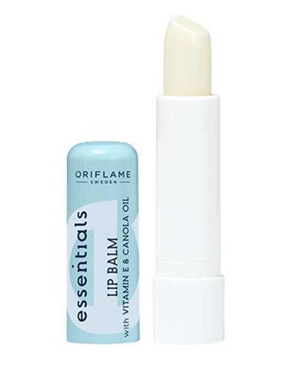 بالم لب حاوی ویتامین Essentials Lip Balm E اوریفلیم