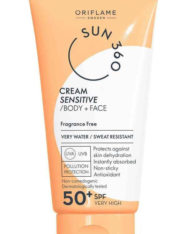 کرم ضد آفتاب Cream Sensitive SPF50 اوریفلیم