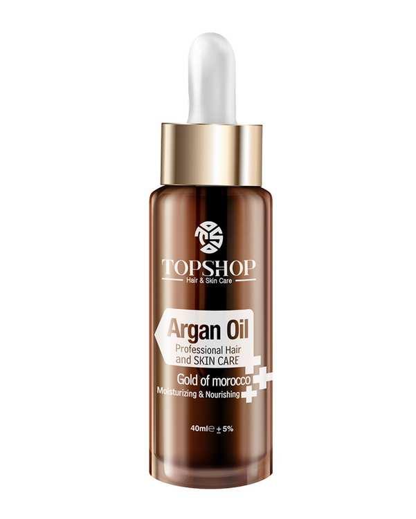 روغن آرگان مناسب برای پوست و مو 45ml تاپ شاپ