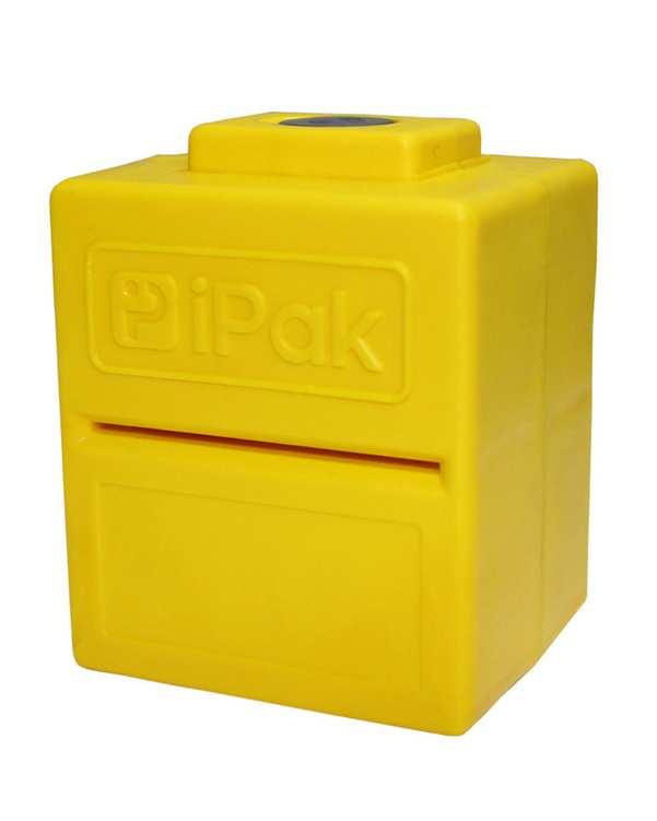 دستگاه ضدعفونی کننده کارت بانکی زرد آی پاک