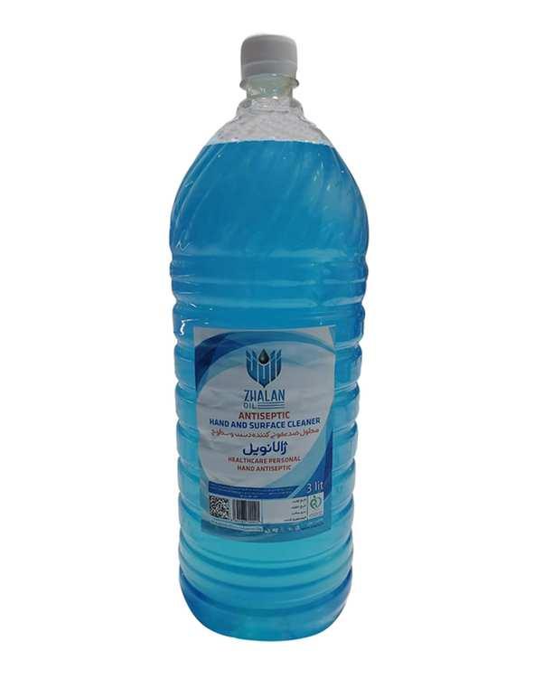 محلول ضد عفونی کننده دست و سطوح 3000ml ژالانویل