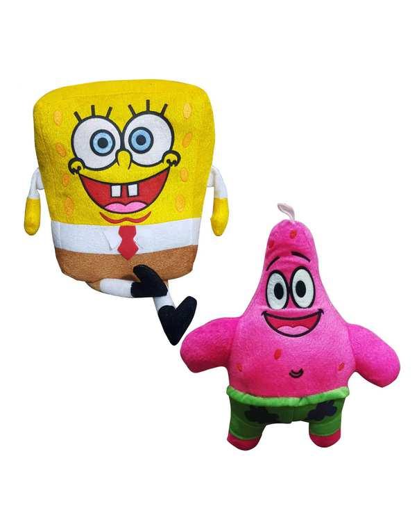 عروسک باب اسفنجی و پاتریک سورا