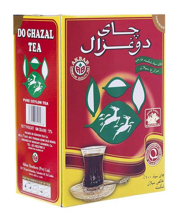 چای شکسته خارجی سیلان 500 گرمی دوغزال