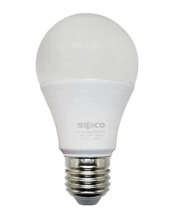 لامپ LED مدل حبابی 9 وات مهتابی سیدکو