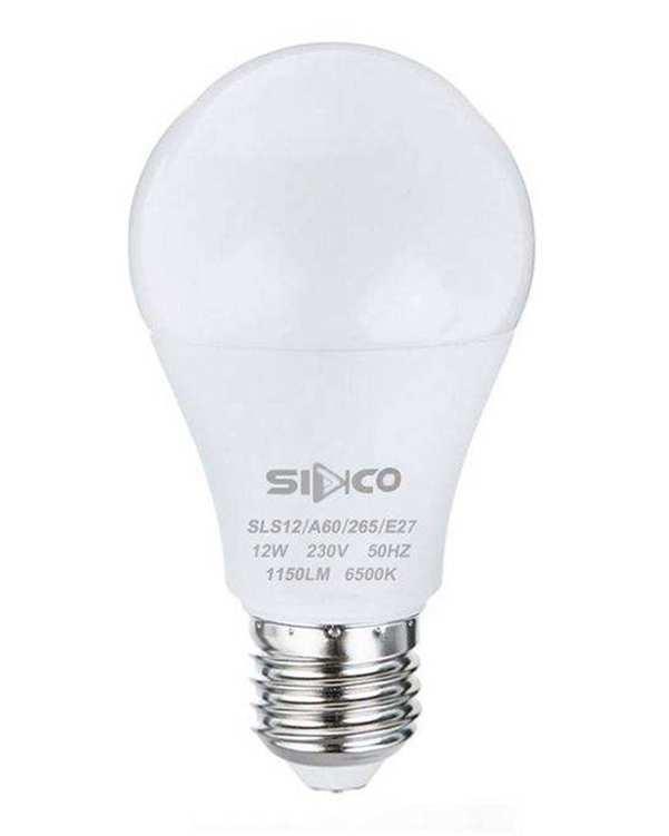 لامپ LED حبابی 12 وات مهتابی سیدکو