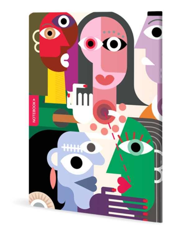 دفتر نقاشی 50 برگ سری Cubana دانو