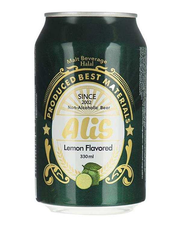 ماءالشعیر با طعم لیمو 250 میلی لیتری عالیس