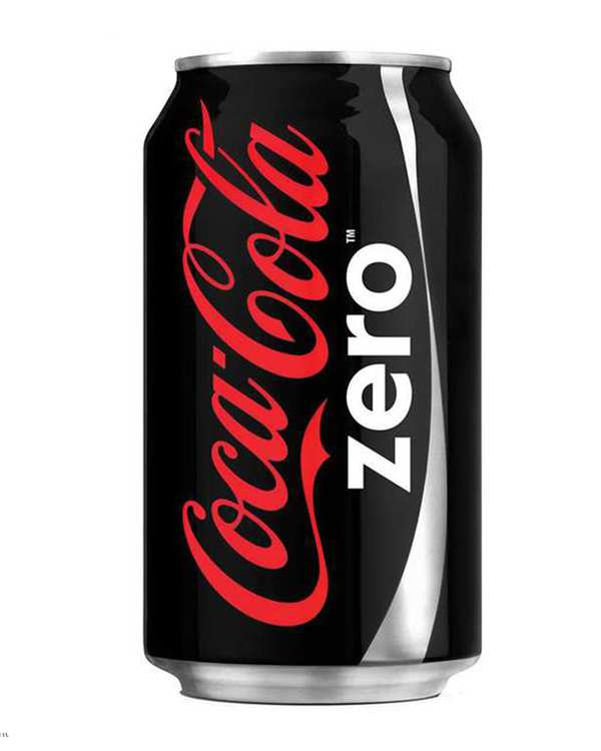 نوشابه زیرو 330 میلی لیتری کوکا کولا