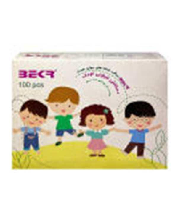 دستکش یک بار مصرف کودک بکر بسته 100 عددی