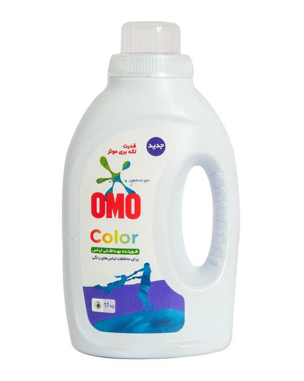 مایع لباسشویی برای محافظت لباس های رنگی 1.1 کیلوییامو 