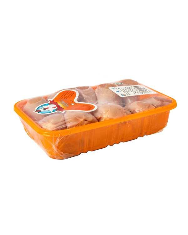 ساق مرغ بدون پوست 1800 گرمی سمین