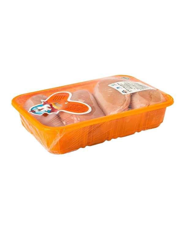 سینه مرغ بدون پوست با بازو 1800 گرمی سمین