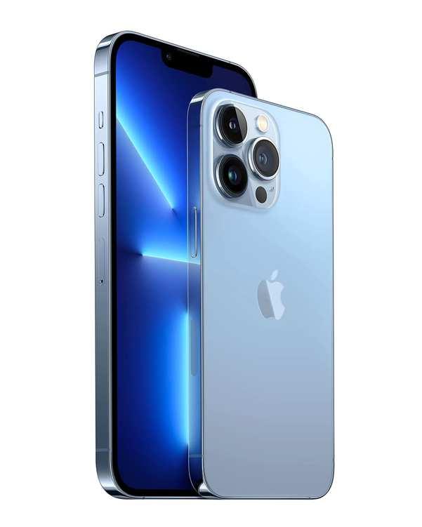 گوشی موبایل اپل مدل iPhone 13 Pro Max  دو سیم کارت ظرفیت 256 گیگابایت آبی