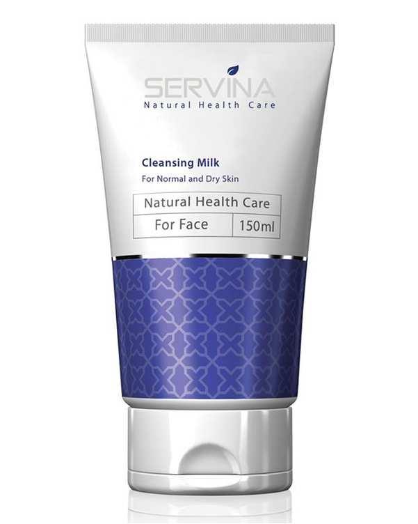 لوسیون پاک کننده آرایش مخصوص پوست خشک و معمولی سروینا