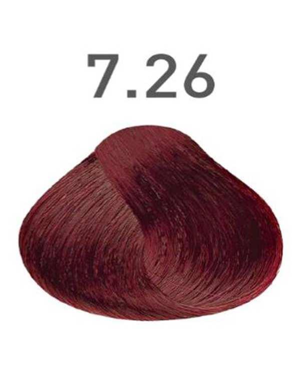 رنگ مو شماره 7.26 ماهگونی 120 میلی لیتری ویتامول