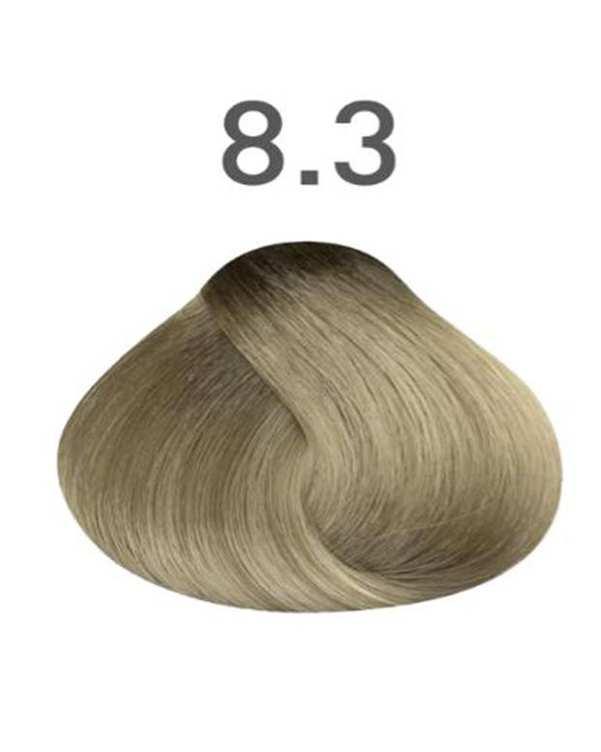 رنگ مو شماره 8.3 زیتونی 120 میلی لیتری ویتامول