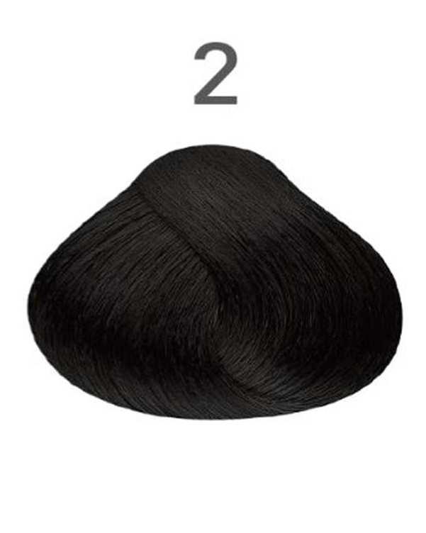 رنگ مو شماره 2 طبیعی 120 میلی لیتری ویتامول