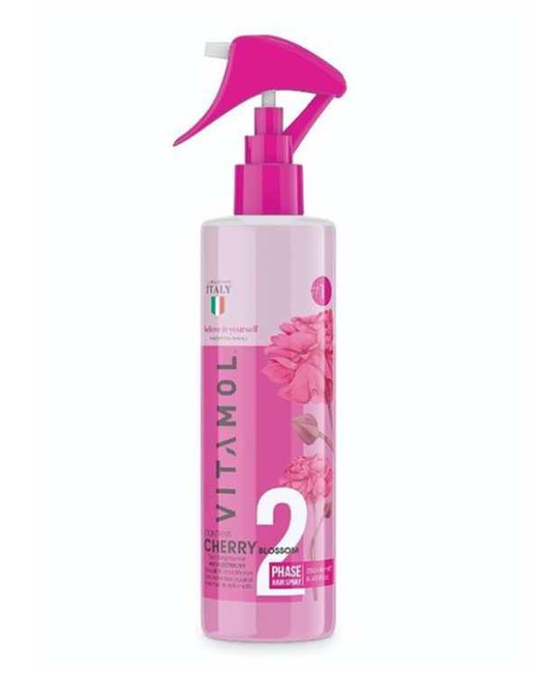 سرم مو دوفاز با رایحه شکوفه های گیلاس 250ml صورتی ویتامول